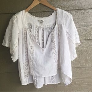 REVOLVE amuse society boho hi low cropped top
